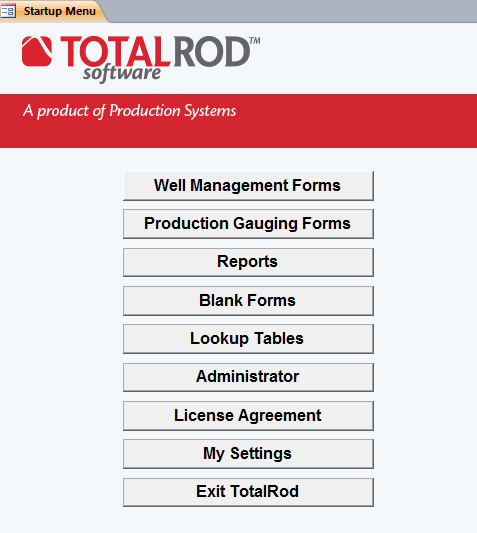 TotalRod Software